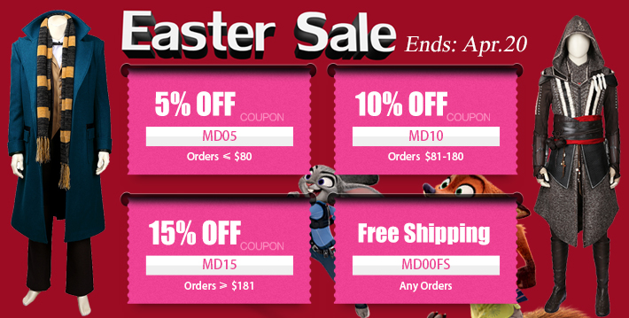 Cosplay shopper coupons
